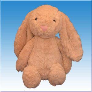 عروسک خرگوش جیلی کت رنگی
