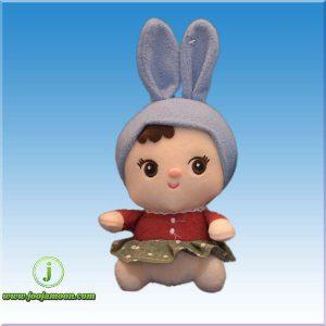 عروسک دخترک کلاه خرگوشی