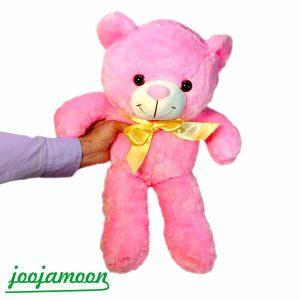 عروسک خرس پاپیون دار