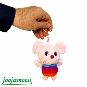 عروسک آویز موش رنگی