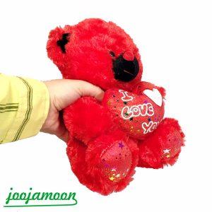 عروسک خرس پوزه مشکی